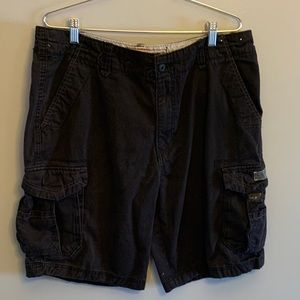 😍 2/40 SPECIAL 😍 Men's black cargo shorts sz 36